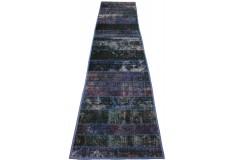Patchwork Teppich Läufer Lila in 310x70cm