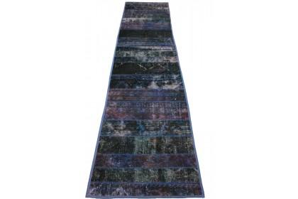 Patchwork Teppich Lila in 310x70cm 1001-1290