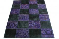 Patchwork Teppich Lila in 220x170cm