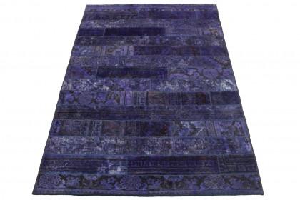 Patchwork Teppich Lila in 250x160cm