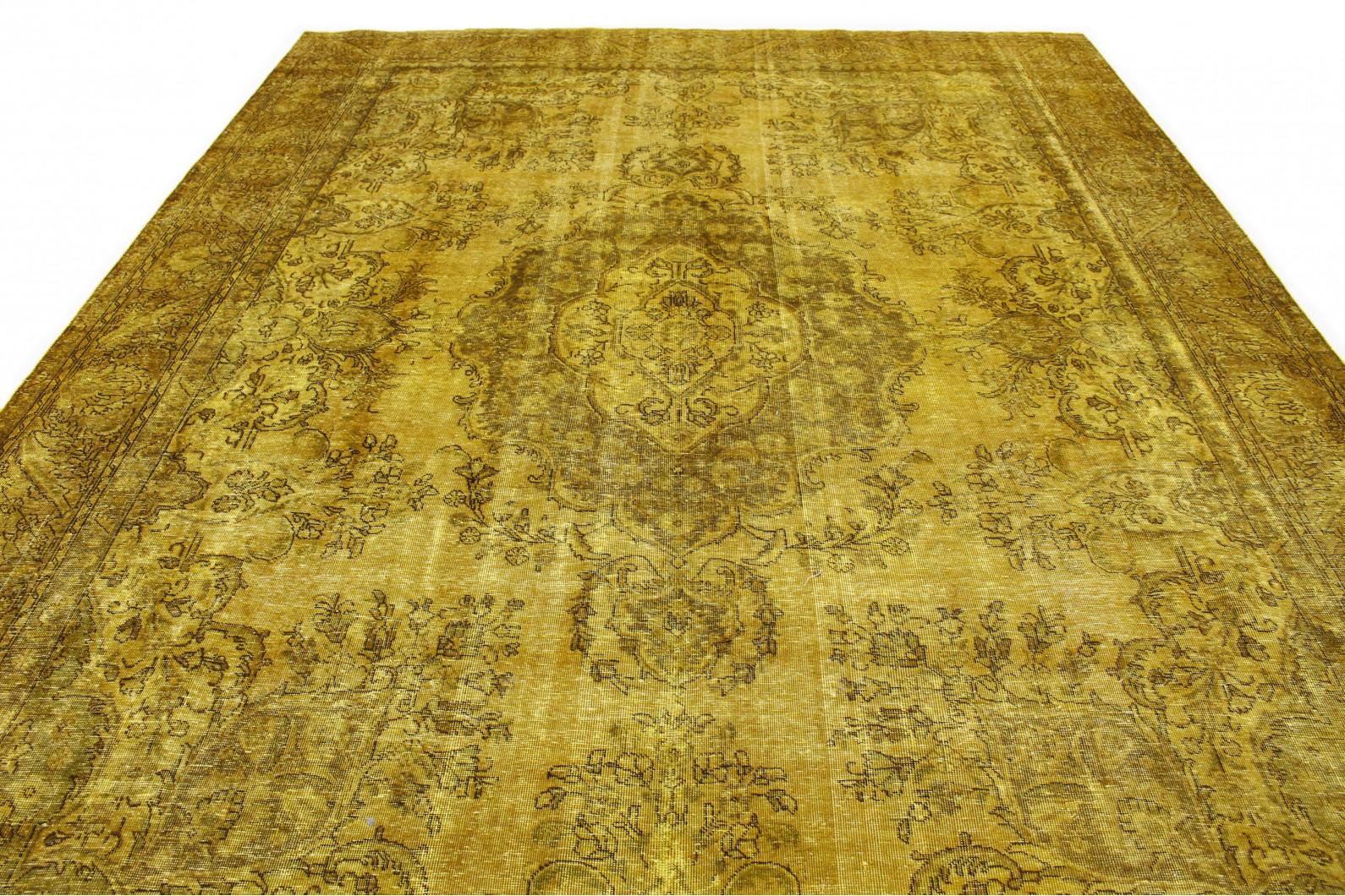 vintage teppich gold in 420x290 1001 16249 bei carpetido. Black Bedroom Furniture Sets. Home Design Ideas