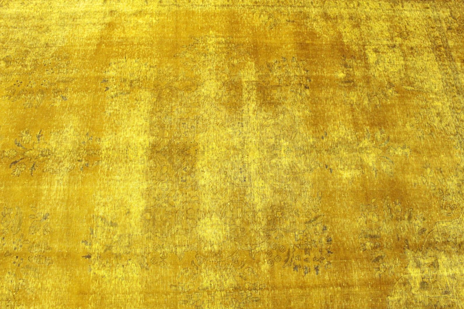 vintage teppich gelb in 370x290 1001 167001 bei kaufen