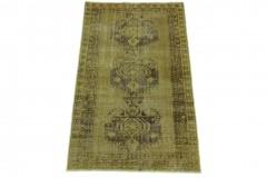 Vintage Teppich Beige Gelb in 190x110