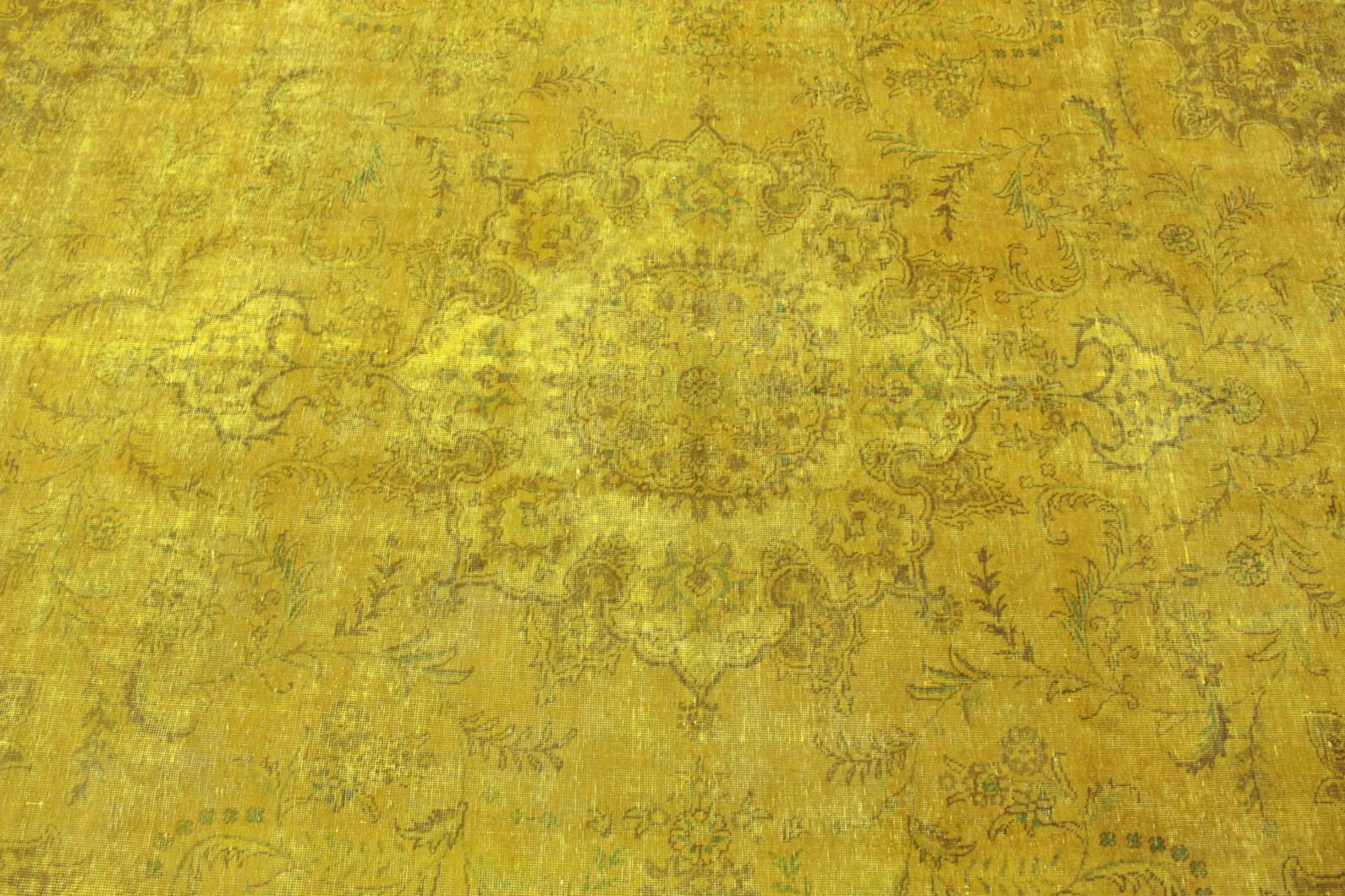 Teppich gelb  Vintage Teppich Gelb in 370x290 (1001-167004) bei carpetido.de kaufen