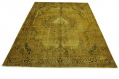 Vintage Rug Yellow in 380x280