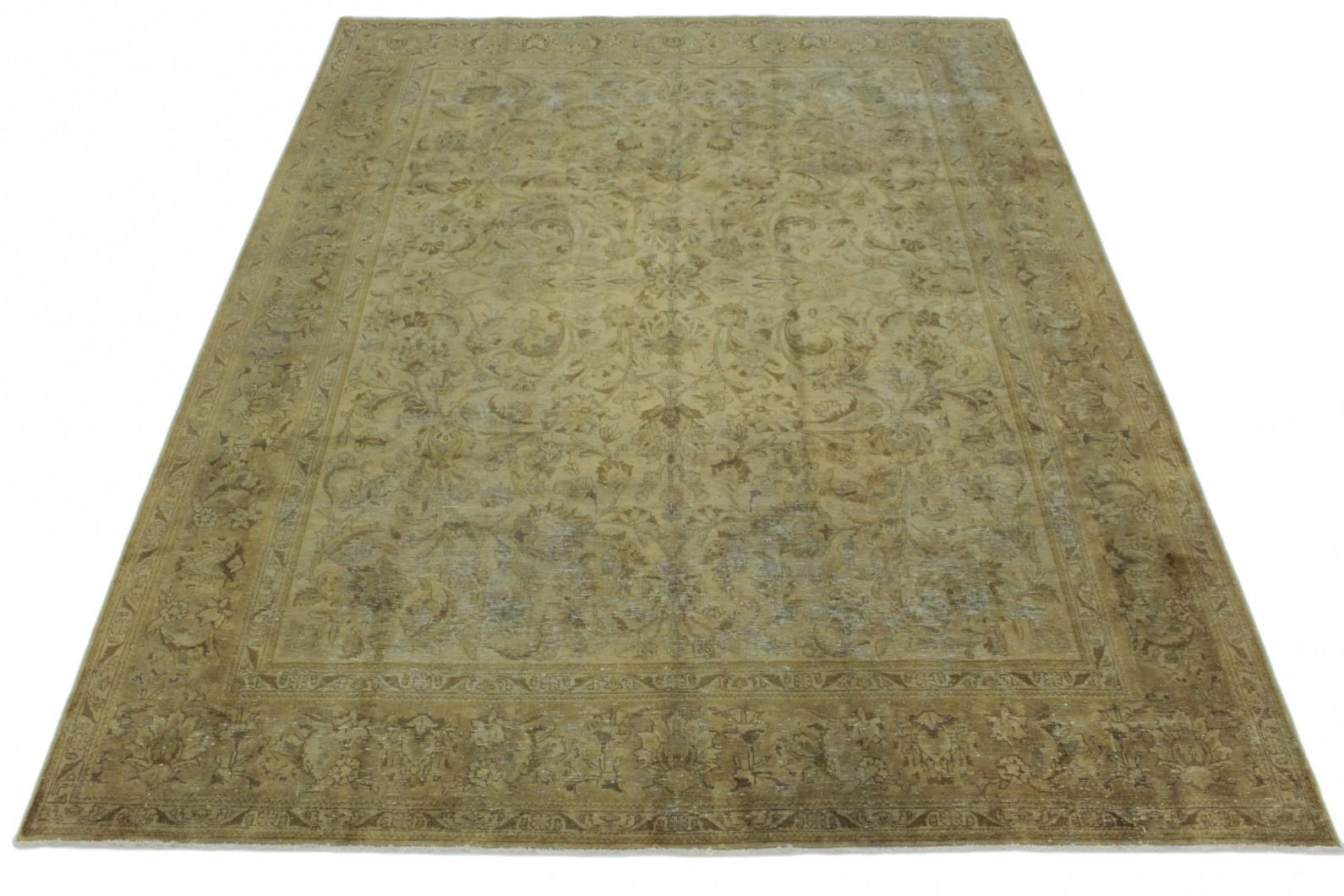Vintage Teppich Beige Braun in 400x300