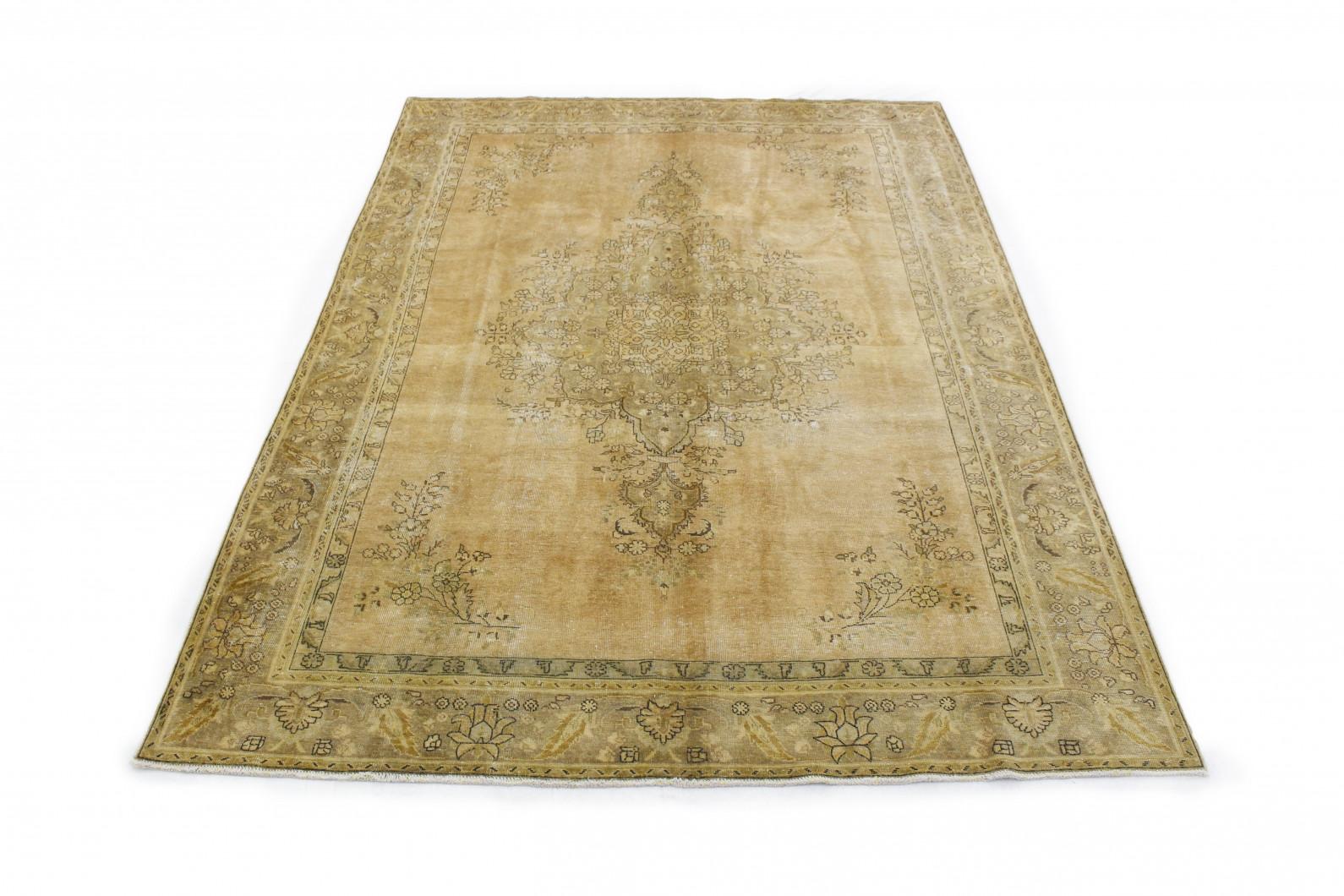 Vintage Teppich Beige Gold in 340x240