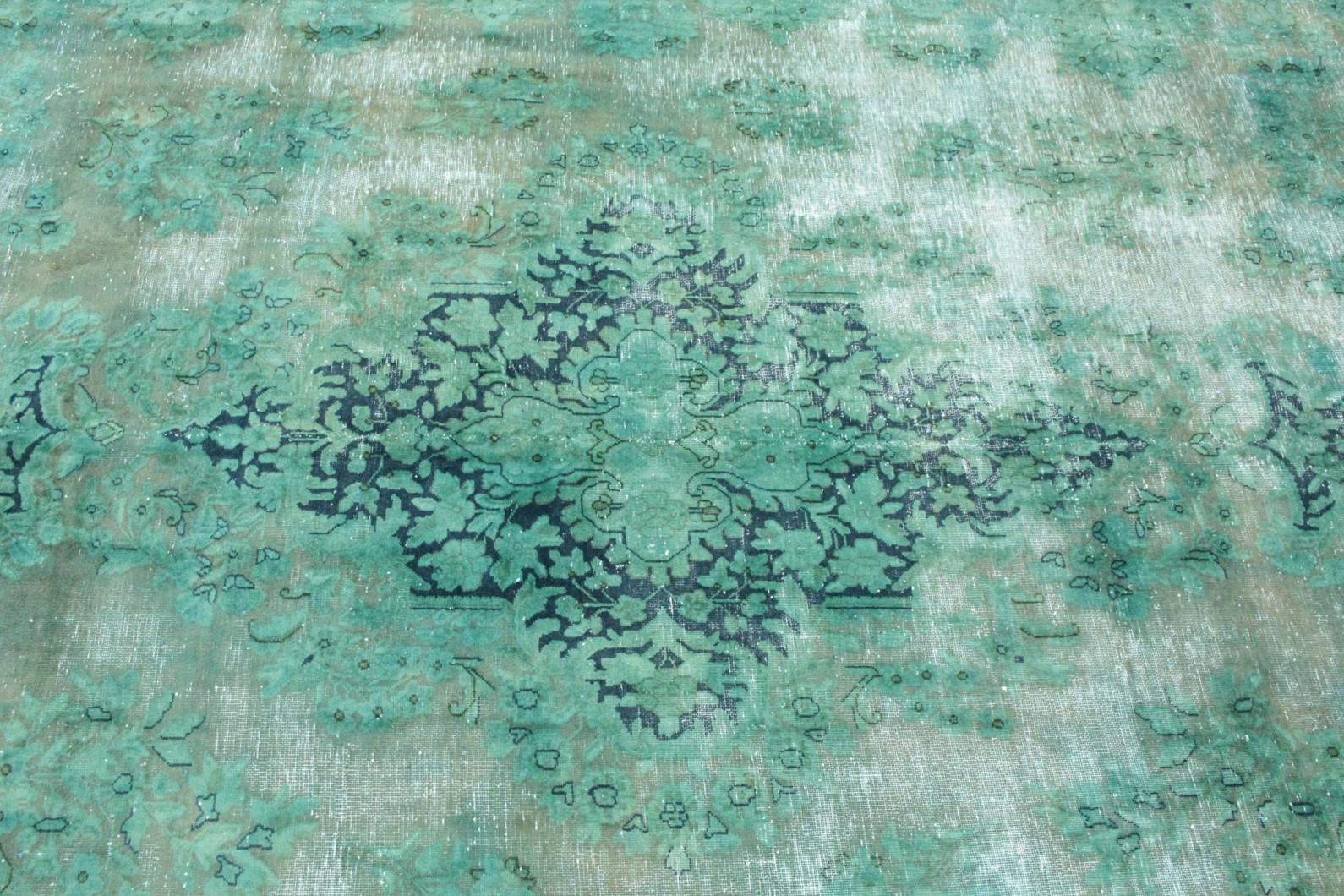 ... Vintage Teppich Grün Türkis In 410x300 (2/5) ...
