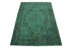Vintage Teppich Grün in 310x200
