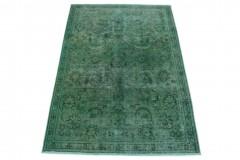 Vintage Teppich Grün in 270x180