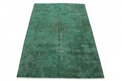 Vintage Teppich Türkis Grün in 320x220