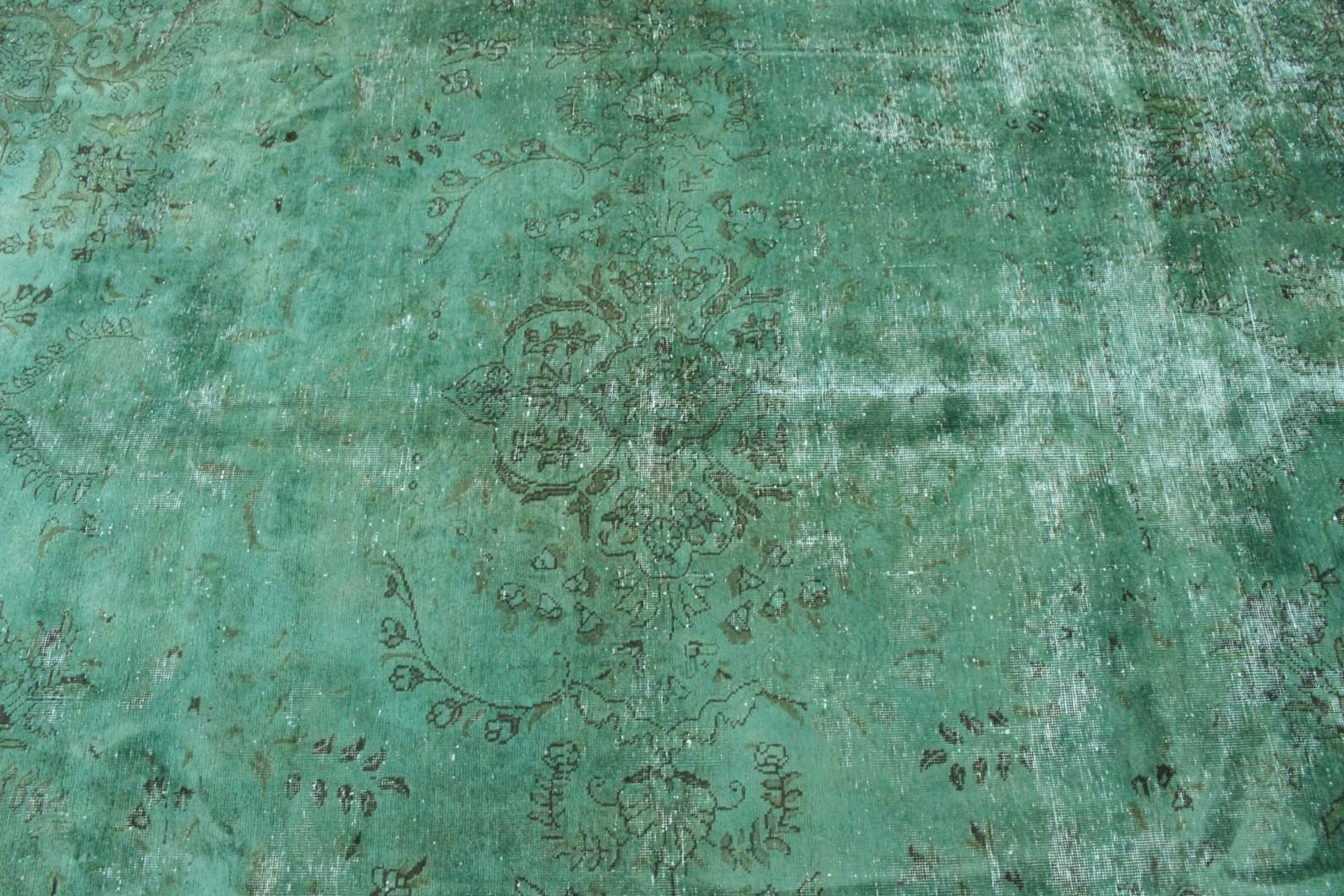 vintage teppich t rkis gr n in 320x220 1001 167041 bei. Black Bedroom Furniture Sets. Home Design Ideas