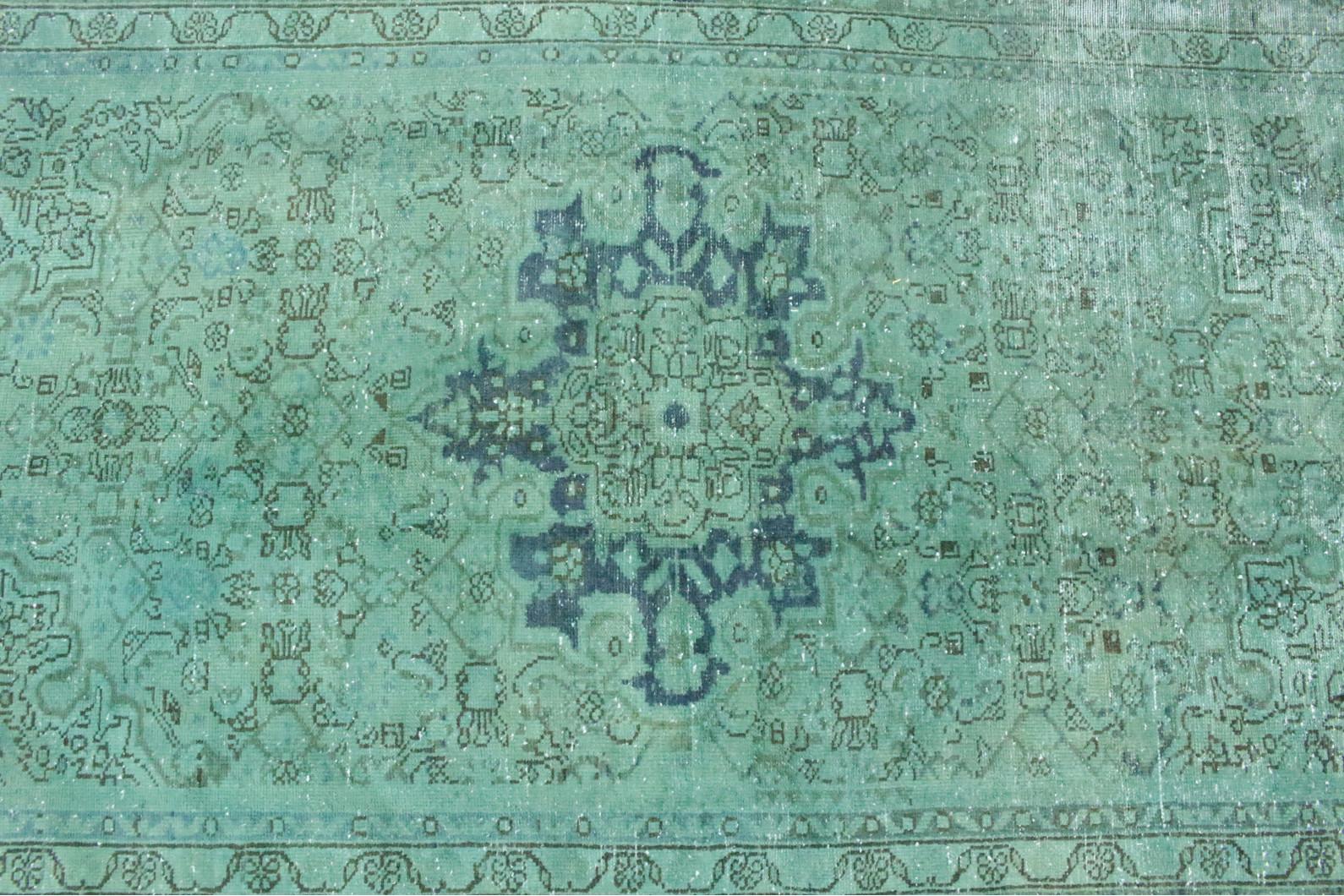 Teppich mintgrün  Vintage Teppich Grün in 220x140 (1001-167042) bei carpetido.de kaufen