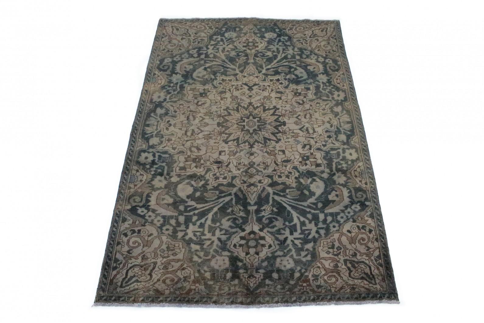 vintage teppich blau beige in 280x180 1001 167046 bei kaufen. Black Bedroom Furniture Sets. Home Design Ideas