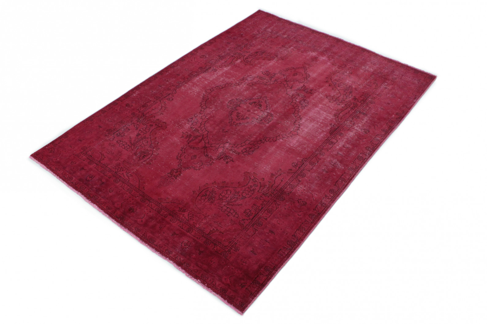 vintage teppich rot in 290x200 1001 167059 bei kaufen. Black Bedroom Furniture Sets. Home Design Ideas