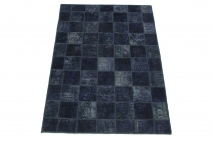 Patchwork Teppich Lila in 200x130
