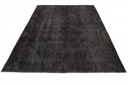 Vintage Teppich Schwarz in 390x290 1001-167161