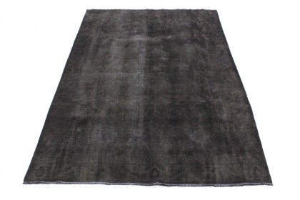 Vintage Teppich Schwarz in 300x180