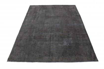 Vintage Teppich Schwarz in 350x250