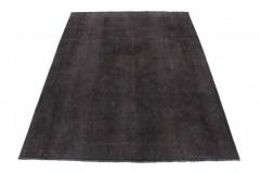 Vintage Teppich Schwarz in 290x210
