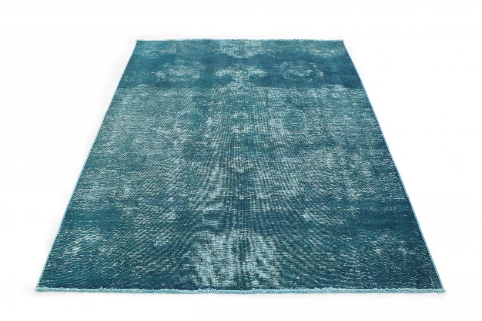 Vintage Teppich Türkis in 260x170 (1 / 4)