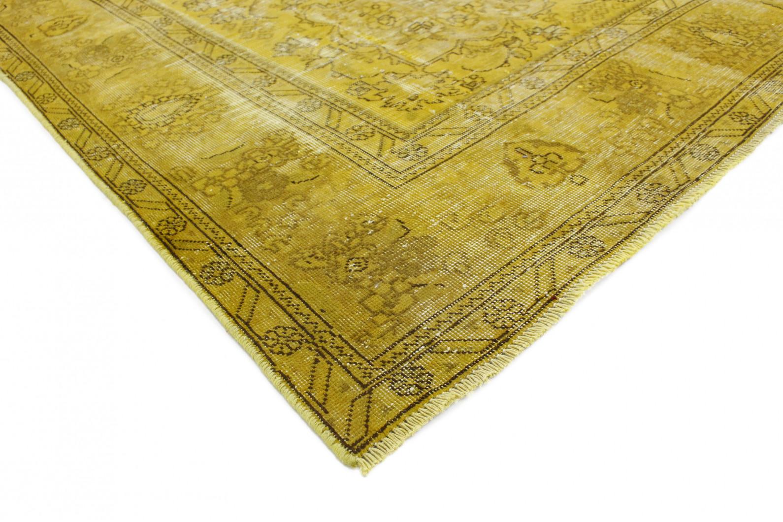 vintage teppich gelb gold in 390x280 1001 167180 bei. Black Bedroom Furniture Sets. Home Design Ideas