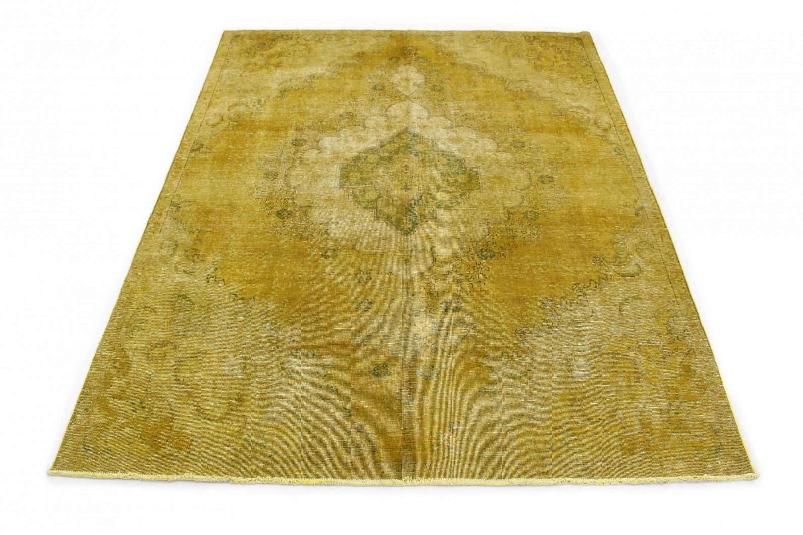 vintage teppich gelb gold in 320x230 1001 167182 bei kaufen. Black Bedroom Furniture Sets. Home Design Ideas