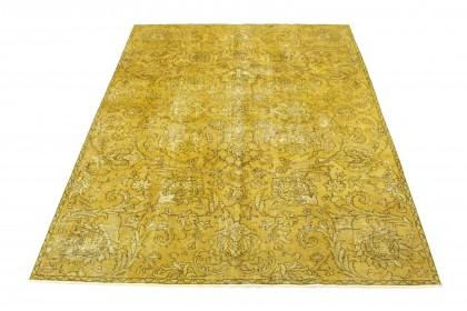 Vintage Teppich Senf in 320x230