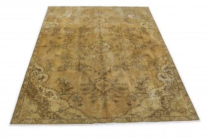 Vintage Teppich Beige Braun in 310x220