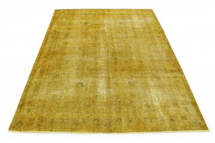 Vintage Teppich Gelb Gold in 350x250 1001-167187