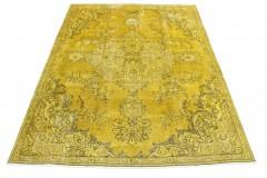 Vintage Teppich Senf in 330x230