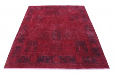 Vintage Teppich Rot in 330x250
