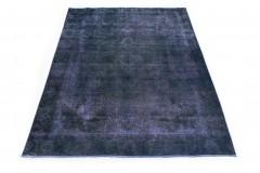 Vintage Teppich Blau Lila in 300x190