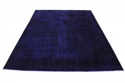 Vintage Teppich Ultramarinblau Blau Lila in 430x310 1001-167207