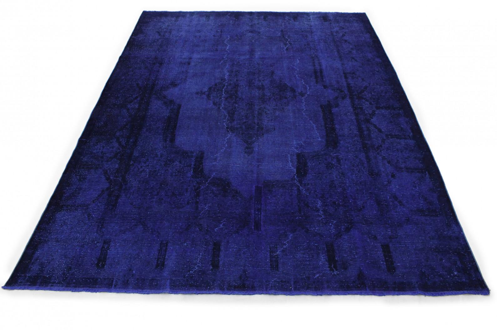 Vintage Teppich Ultramarinblau Blau in 410x290 (1 / 5)