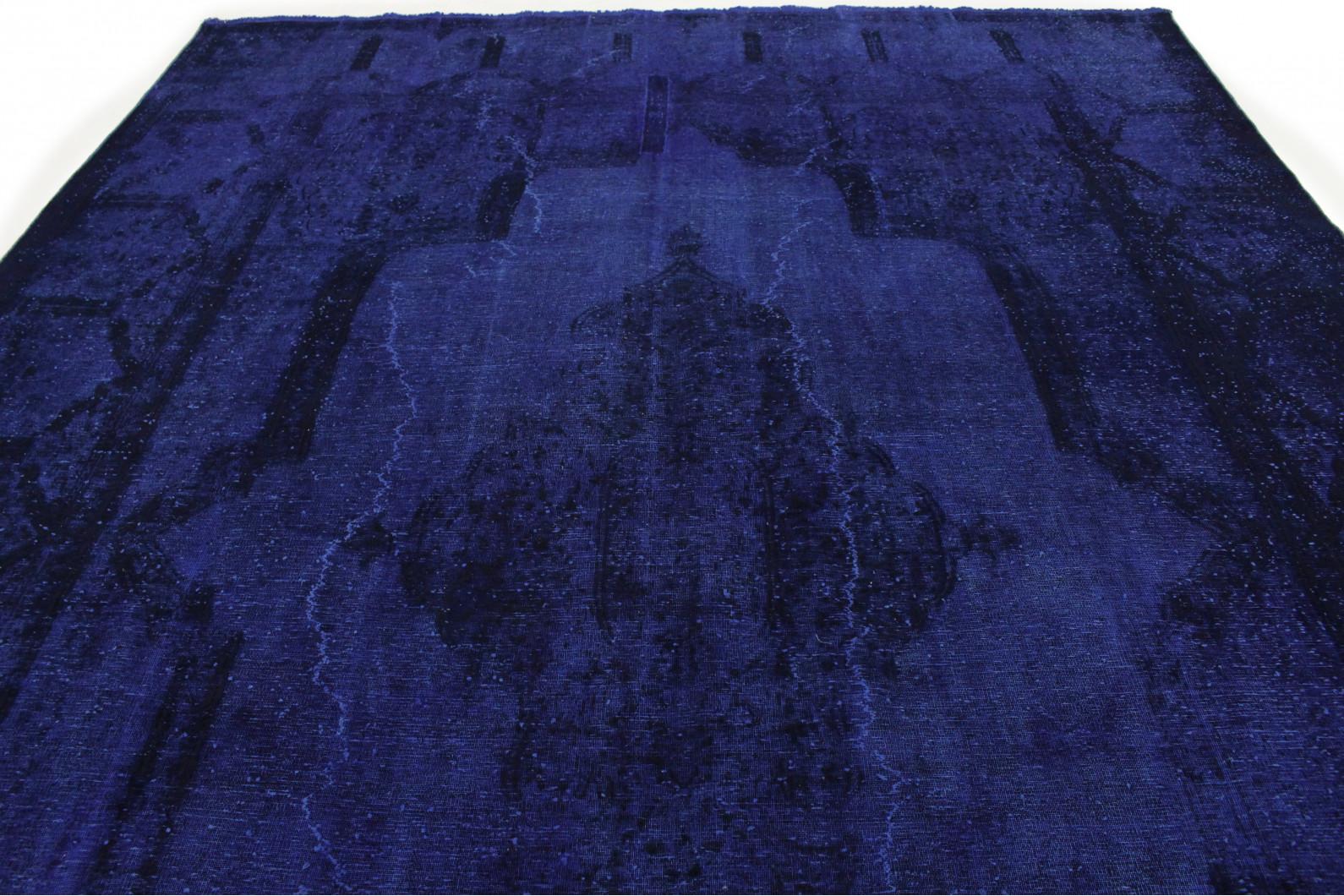 vintage teppich ultramarinblau blau in 410x290 1001