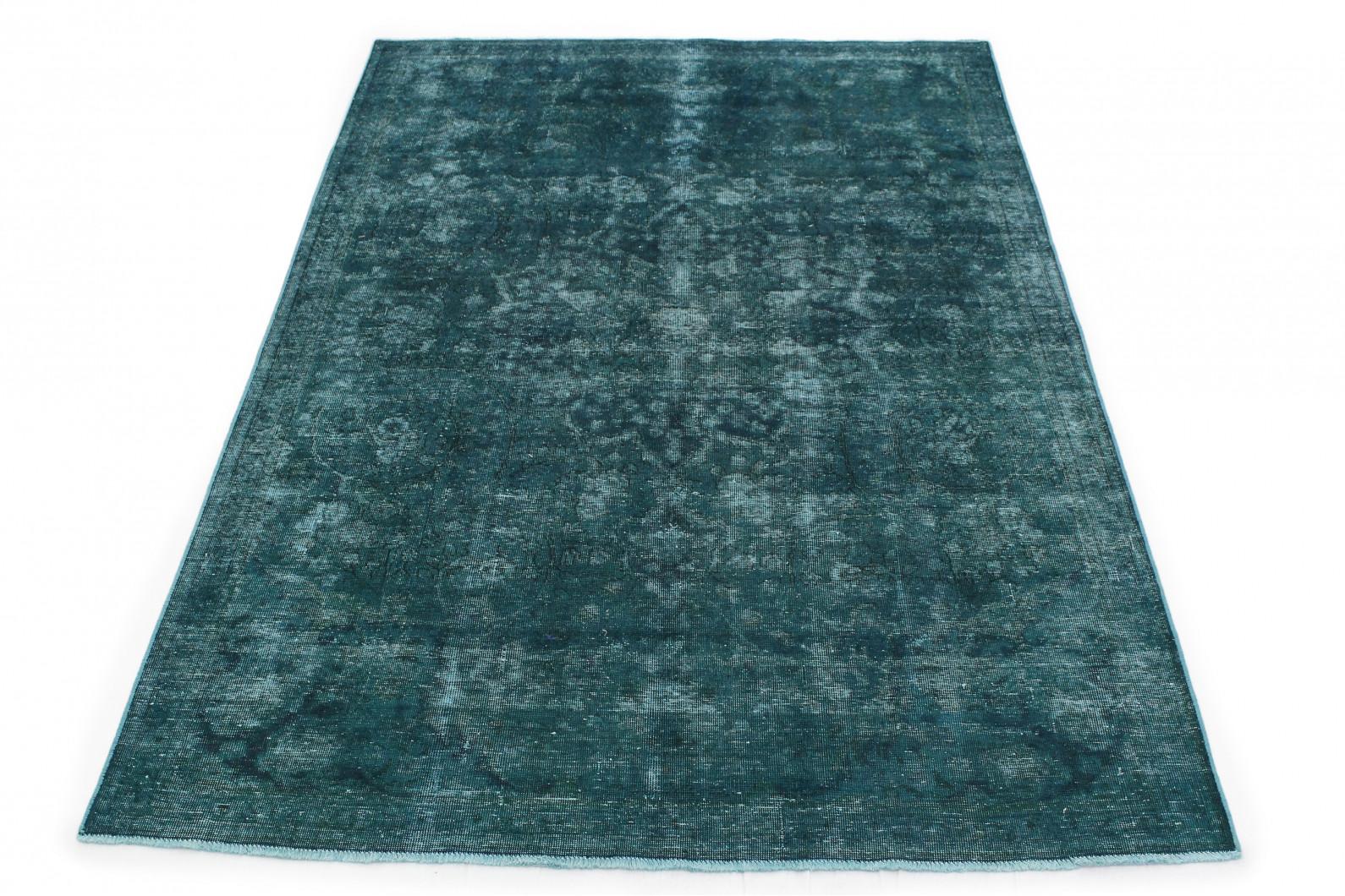 Vintage Teppich Türkis in 290x190