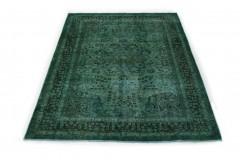 Vintage Teppich Grün Türkis in 280x200