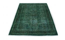 Vintage Rug Green Turquoise in 280x200