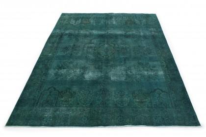 Vintage Teppich Grün in 360x270 1001-167223