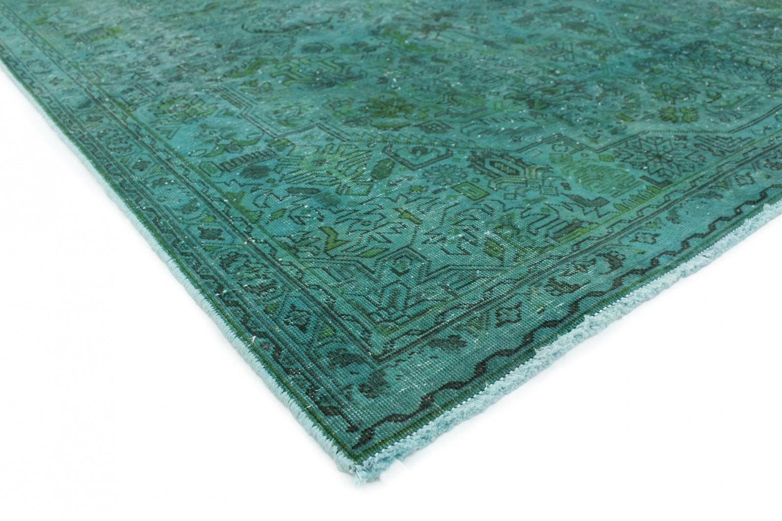 vintage teppich t rkis gr n in 280x190 1001 167224 bei. Black Bedroom Furniture Sets. Home Design Ideas