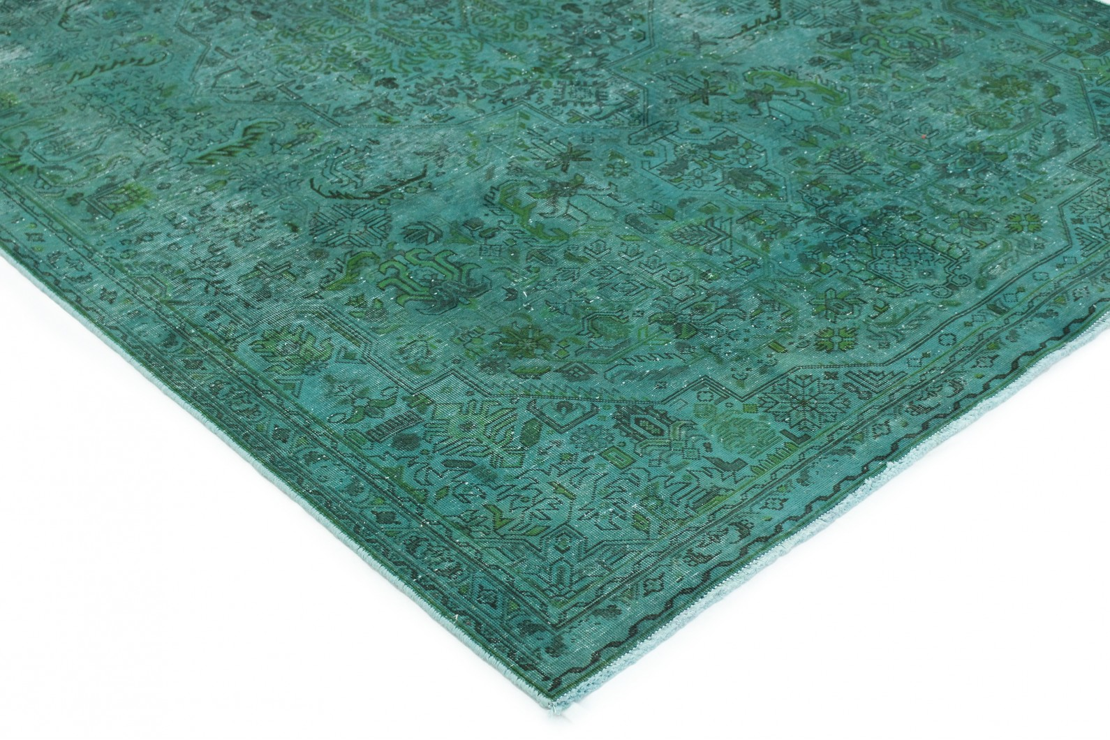 vintage teppich t rkis gr n in 280x190 1001 167224 bei kaufen. Black Bedroom Furniture Sets. Home Design Ideas
