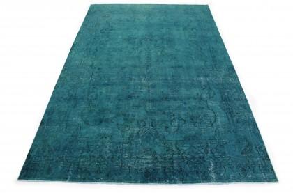 Vintage Teppich Türkis in 420x260