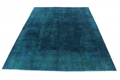 Vintage Teppich Blau Türkis in 380x290 1001-167229