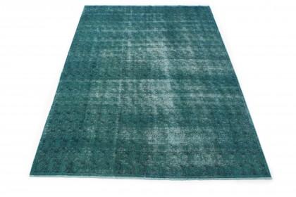 Vintage Teppich Türkis in 310x200