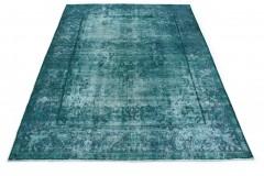 Vintage Teppich Türkis in 340x240