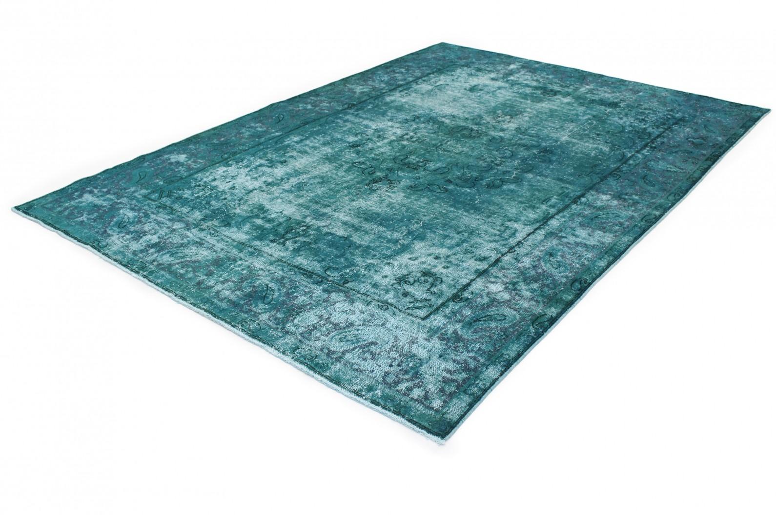 vintage teppich t rkis in 340x240 1001 167234 bei kaufen. Black Bedroom Furniture Sets. Home Design Ideas