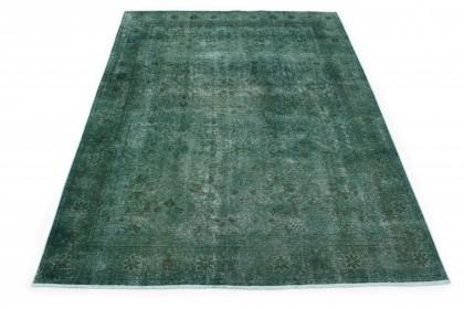 Vintage Teppich Grün in 330x220