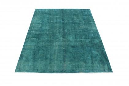 Vintage Teppich Türkis Grün in 310x230