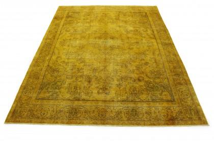 Vintage Teppich Gold in 380x290